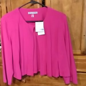 Danny and Nicole pink Cardigan.  NWT